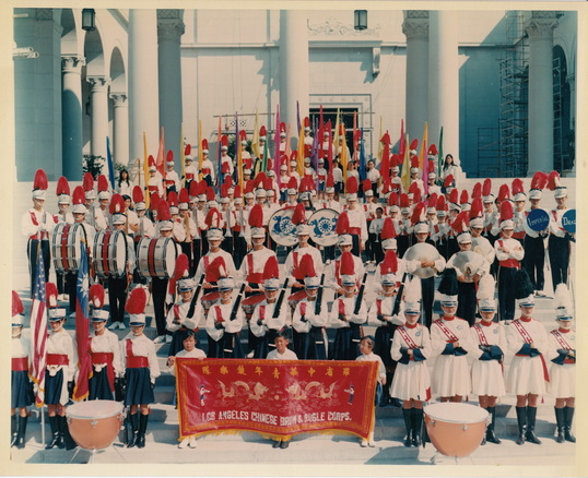 los angeles chinese drum and bugle corps imperial dragons los
